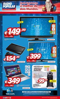 Newsletter - Neste Natal tenha o melhor de dois mundos. Novo folheto já disponível: http://www.radiopopular.pt/newsletter/2013/122/