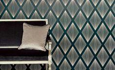 Wallcoverings - #Wallpaper - Papel pintado #ROMO Encuéntralo en www.papelespintad...!! #decoración #interiorismo #homedecor #romowallcoverings @Romo & Black Edition