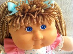2005 PA CABBAGE PATCH KIDS GIRL DOLL CUSTOM CURL REROOT TEDDY BEAR CLOTHES SHOES