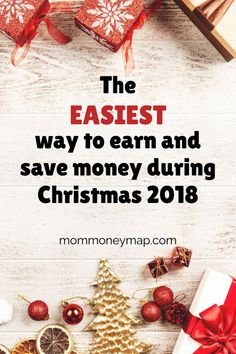 The easiest way to make money and save money during Christmas 2018 is through cash back sites and apps. As you're probably already spending money on gifts this holiday season, not using simple cash back websites is just leaving money on the table. It's quick and easy. You can do it online and at home. Learn about these cash back sites and how to make that extra cash fast. #savemoney #makemoney #budget #personalfinance