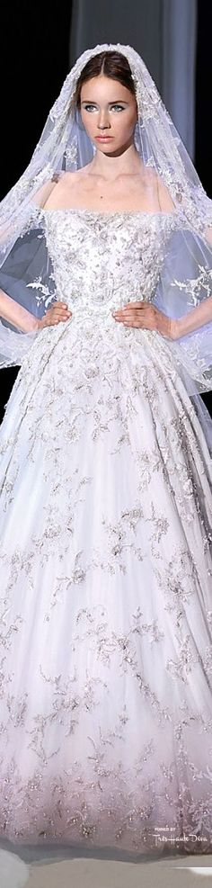Bride After Ceremony See More Princess Wedding Dresses Ralph Russo Spring 2015 Couture THD