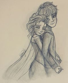 Jelsa hug (*v*) by kanani-chan on DeviantArt