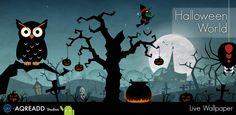 Get Halloween Live Wallpaper World on Google Play: https://play.google.com/store/apps/details?id=com.aqreadd.livewallpaper.halloweenworlds