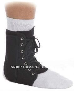 Aluminium Ankle brace; Ankle support