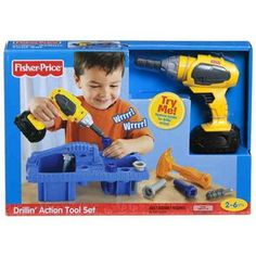 Fisher-Price Drilling Action Tool Set