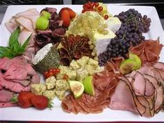 meat & cheese party platters