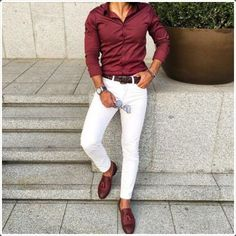 How White Pants for Men is a Perfect Choice: 40 Looks to Justify - Men's Fashion 2017