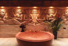 Spa at Jamahal Private Resort & Spa in Bali Beautiful Hotels, Beautiful Interiors, Most Beautiful, Global Style, Resort Spa, Bali, Trips, Places, Viajes