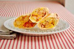 simple, make-ahead breakfast burritos - dinner for winners