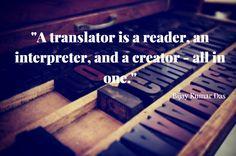 Aren't translators talented people? #translation #translator #languages #quote