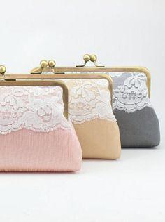 Bridal Clutch Purse / Vintage Inspired Bridal