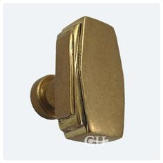 Art Deco Cupboard Door Knobs In Brass or Bronze finishes