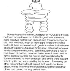 "Exceptional Website perfect for an interactive notebook. What does the word ""Inuksuk"" mean? Tell 7 things that Inuksuks are used for. Draw an inuksuk and color it. Aboriginal Day, Aboriginal Education, Indigenous Education, Canada Day Crafts, Teaching Social Studies, Social Studies Classroom, Native American Wisdom, Cycle 2, Inuit Art"