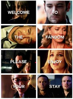 Arrow to all the people who don't get why I love arrow so much:)