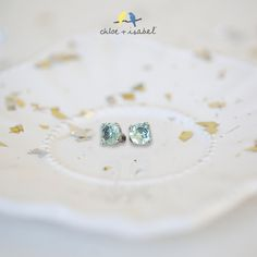 Shop the 'Birthstones by c+i' collection on my boutique today! My birthstone is Aquamarine. These are so pretty! Such a gorgeous pale blue