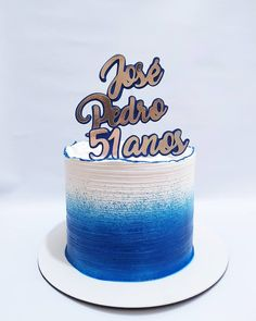 Elegant Birthday Cakes, Winter Wonderland Birthday, Blue Cakes, Fondant Tutorial, Space Theme, Cake Designs, Cake Toppers, Cupcakes, Desserts