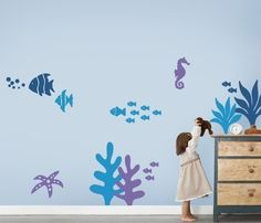 Under the Sea Wall Decal Collection  Stylish Baby by SimpleShapes, $83.00