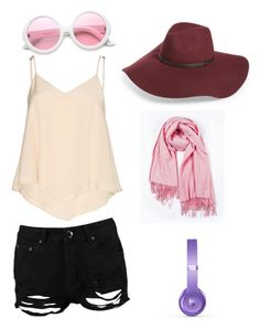 """Girly"" by cydnneyl on Polyvore featuring Boohoo, Alice + Olivia, Halogen, ZeroUV and Beats by Dr. Dre"