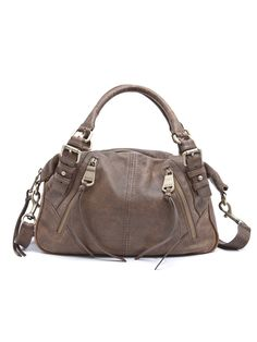 Nathalie Leather Satchel #AM30