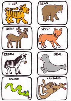 Mejores 76 Imagenes De Animales En Ingles Y Mucho Mas En Pinterest