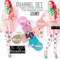 Channel set 105 rb• Sms/WA : 089671911300  • PIN : 3277E908 • FB : Fitri Mesava • Instagram : hijab_fitrimesava  #dress #hijab #maxi #fashion #cewek #maxidress #jualonline #hijabonline #hijabers #couple #olshopmurah #olshopgrosir #hijabers #muslim #olshopmuslim#grosirmuslim#maxisyari#grosirmaxi #RSD #grosirRsd #oriRSD #JualanRsd #jualanhijabsyari #jualansyari #hijabsyari #hijabrsd #konveksi