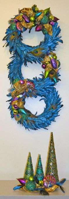"""Glorious Holiday"" wreath donation by Cynthia Alt"