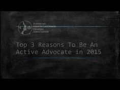 Top Reasons to be an Advocate in 2015 - YouTube