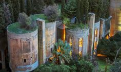Spanish architect Ricardo Bofill spent over forty years (and counting) transforming an old cement factory into his dream home.
