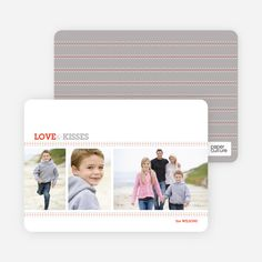 Love and Kisses Valentine's Day Cards from Paper Culture