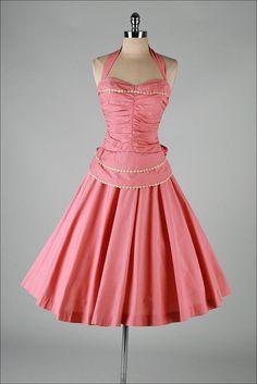 vintage  dress . LILLI DIAMOND .