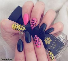 Nail Art For Spring Season 2017 - Reny styles Stiletto Nail Art, Spring Nail Art, Seasons, Style, Kunst, Swag, Seasons Of The Year, Outfits