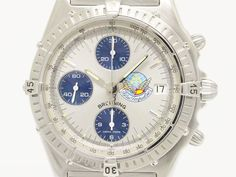 #BREITLING Chronomat Blue Impulse LTD Edition Automatic Watch A13048 (BF079623). Authenticity guaranteed, free shipping worldwide & 14 days return policy. Shop more #preloved brand items at #eLADY: http://global.elady.com