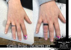 Ring Tattoo // CoverUp Tattoo