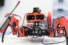 Siemens' robotic spiders are like autonomous 3D printers with legs