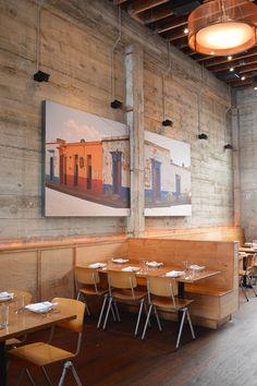Cafe society restaurant: Comal, Berkeley