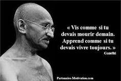 """Résultat de recherche d'images pour """"citation motivation"""" Wise Quotes, Words Quotes, Reflection Quotes, Celebration Quotes, Happy Words, Positive Inspiration, Gandhi, Great Words, My Mood"""