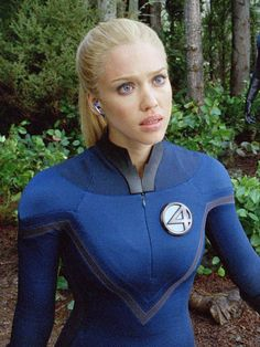 Sue Storm - AKA Invisible Woman - AKA Jessica Alba, (Fantastic Four / 2005 &2007) {Susan Storm Richards}