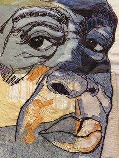 Shirley Nette Williams - stitch portrait 38