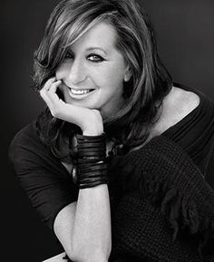Donna Karan, American fashion designer.