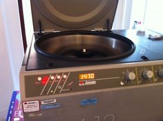 """A centrifuge is """"The must have cooking gadget for 6 years in the future""""  :)"""