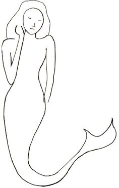 How to draw a Mermaid, step 4