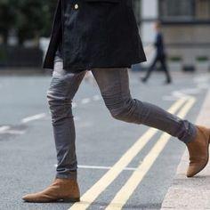 grey-biker-denim-and-brown-chelsea-boots
