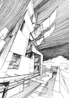 1000 images about stefan davidovici on pinterest milan for Online architecture drawing