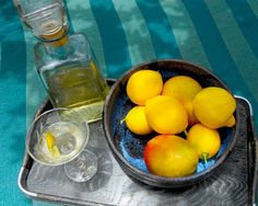 #Limoncello: Alchemy in a bottle. The combination of 80 proof #vodka infused with lemon peel produces an aromatic, sweet liquor that can be mixed in #cocktails, or even poured over vanilla ice cream. #recipe