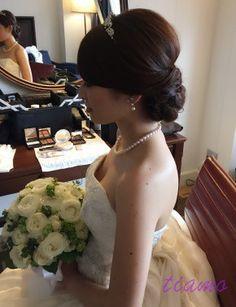 美人花嫁さまの幸せホテルウエディングな一日♡♡ の画像|大人可愛いブライダルヘアメイク 『tiamo』 の結婚カタログ