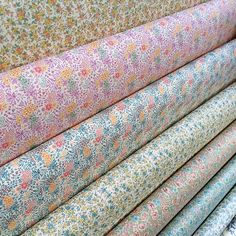 Super sweet #vintage #floral patterns make up one of our beautiful spring #paper ladders!!
