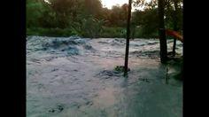 Banjir Mengerikan Di Sungai Sawoo | Terrible Flood Footage 2016