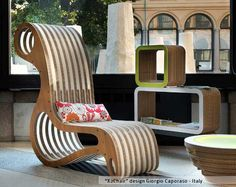 """X2Chair"" by Giorgio Caporaso - LESSMORE® visit www.lessmore.it"