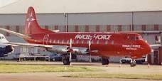 Parcelforce Plane