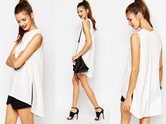 DAISY STREET TOP Trousers Fashion, Long A Line, Daisy, Street, Tops, Margarita Flower, Daisies, Walkway